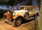 Fotos von fotos von Autos im Museum