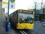 Stadtbus mit Gelenk