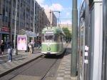 Historische Tram der Rheinbahn, Düsseldorf Hbf