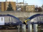 HST JAVELIN 395011 und 395006 Ashford International