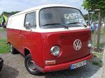 Ein schön restaurierter VW-Transporter