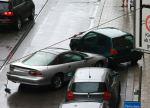 Fotos von fotos von verunfallten Autos