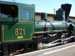 Die 671 der GKB stand am 30.9.2007 zum anschauen am Grazer Ostbahnhof.