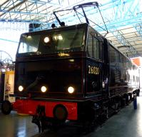 LNER EM1 class electric locomotive im National Railway Museum in York